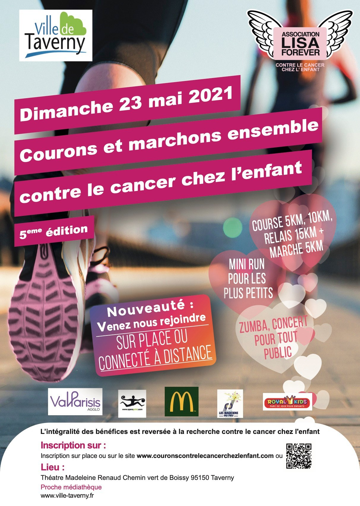 Course solidaire Lisa Forever 2021