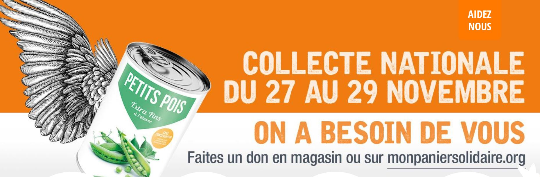 Collecte 2020 Banques alimentaires