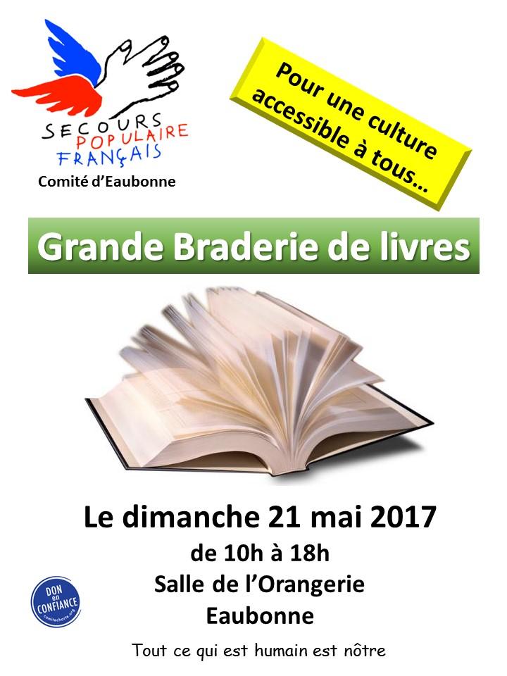 Grande braderie de livres à Eaubonne