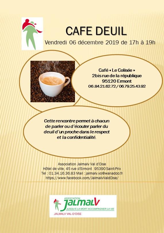 Café deuil à Ermont le 6 décembre 2019