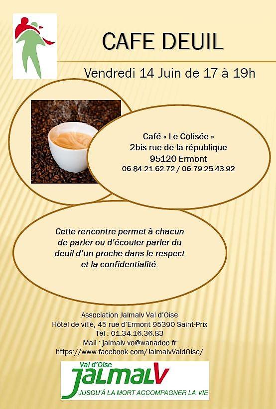 Café Deuil le 14 juin 2019