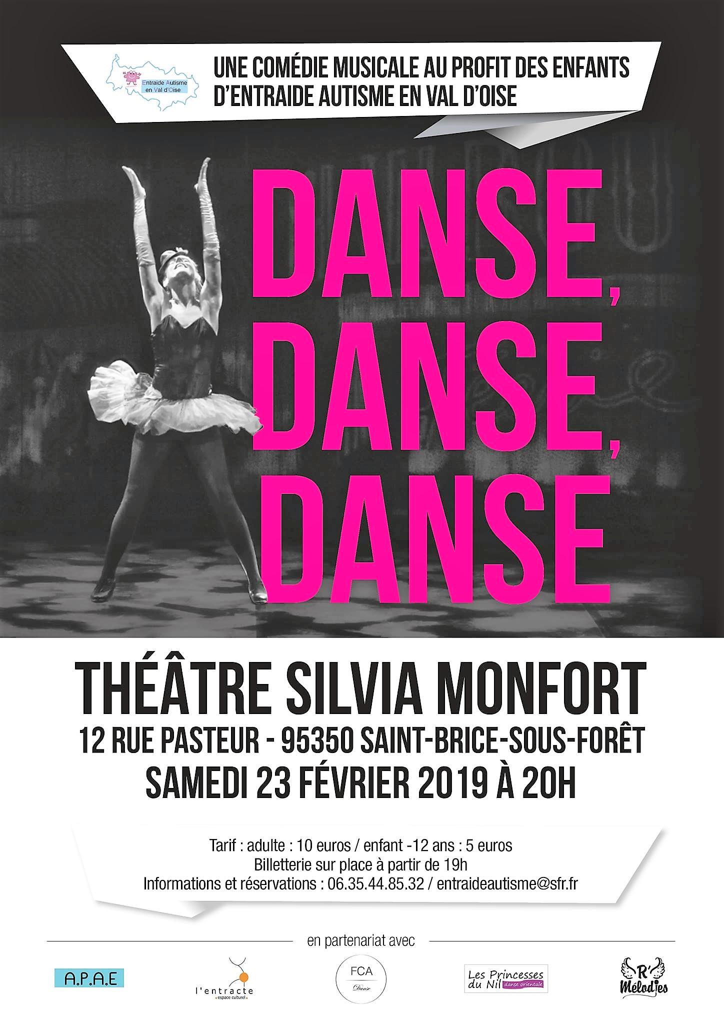Comédie musicale : Danse danse danse