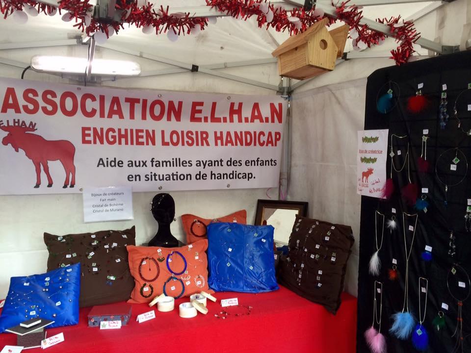 stand de ELAN lors du dernier marché de Noël