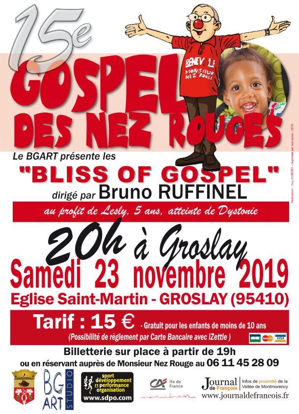 15e Gospel des Nez Rouges à Groslay