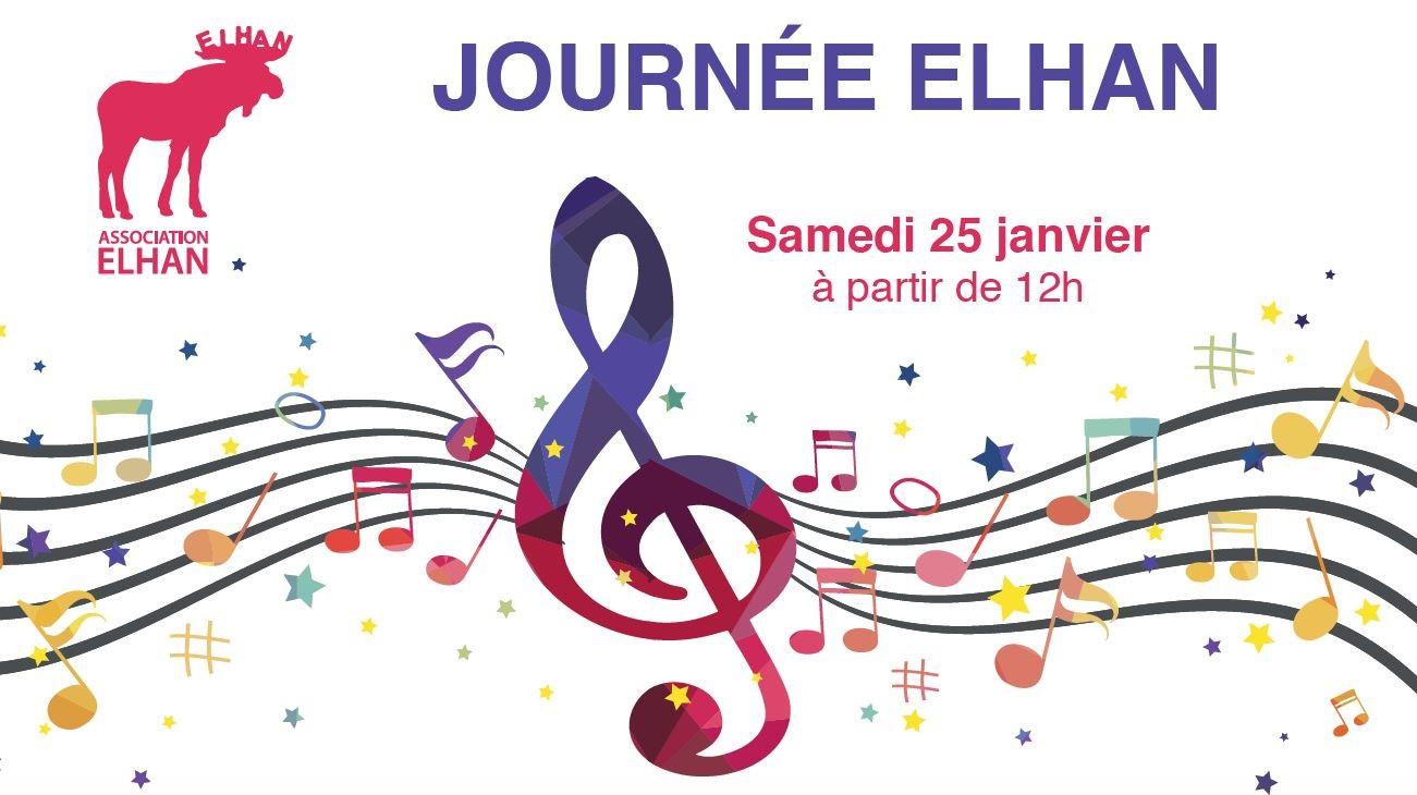 Brunch musical et après-midi dansant par l'association Ehlan - Enghien le 25 janvier 2020