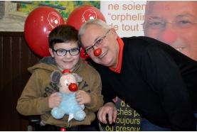 Monsieur Nez Rouge vient en aide à Léo de Saint-Gratien !