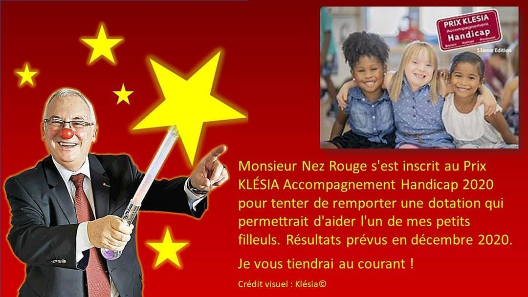 Nonsieur Nez Rouge candidat au prix Klesia