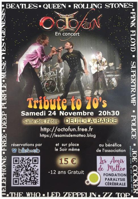 OCTOFUN à Deuil-la-Barre le 24 novembre 2018