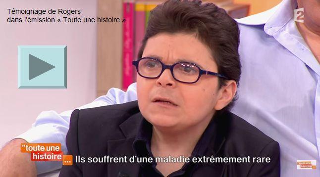 TEMOIGNAGE DE ROGERS DANS TOUTE UNE HISTOIRE sur France 2