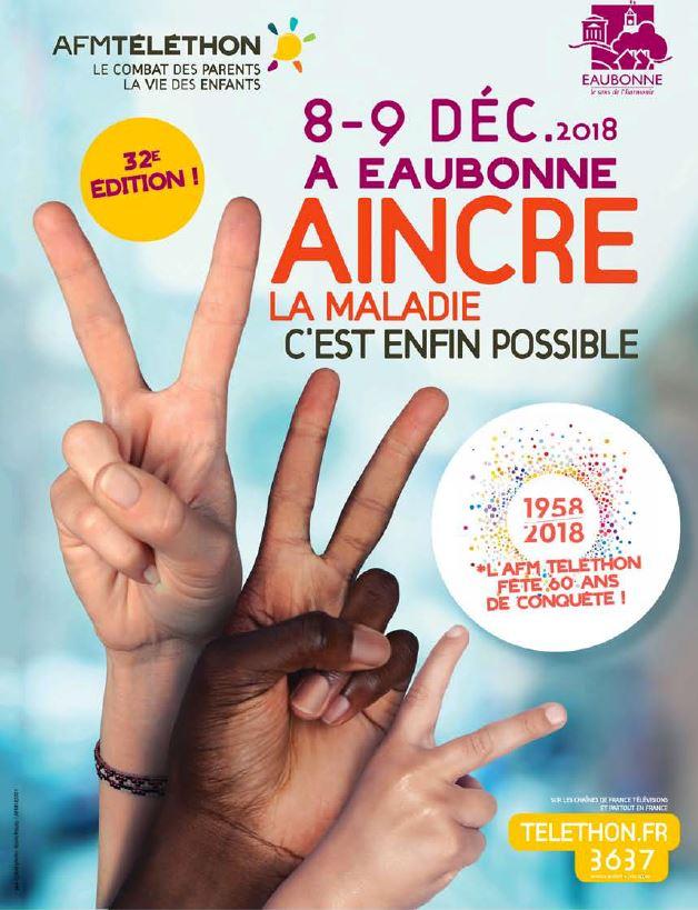 Téléthon à Eaubonne 2018