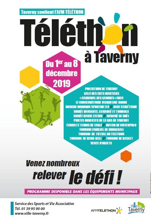 Téléthon 2019 à Taverny