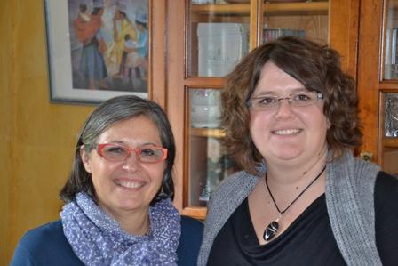 Catehrine et Elodie Ivandekics