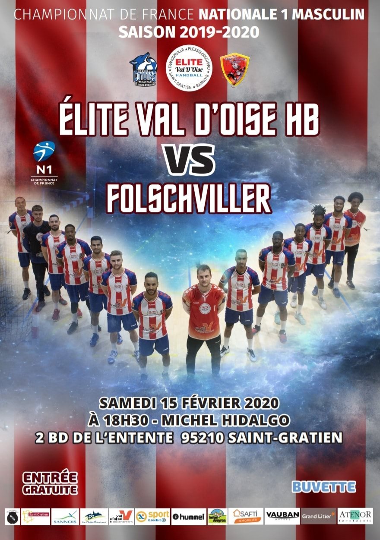 Elite Val d'Oise Handball - Folschviller