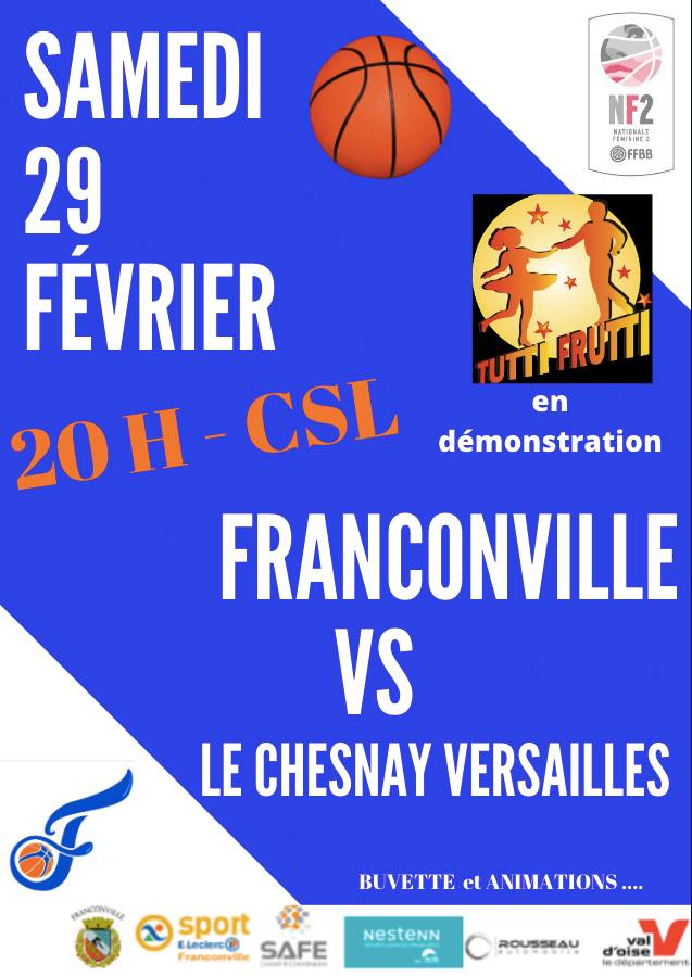 BC Franconville PB - Le Chesnay Versailles