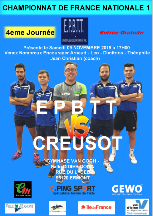 EPBTT - Le Creusot 9 novembre 2019