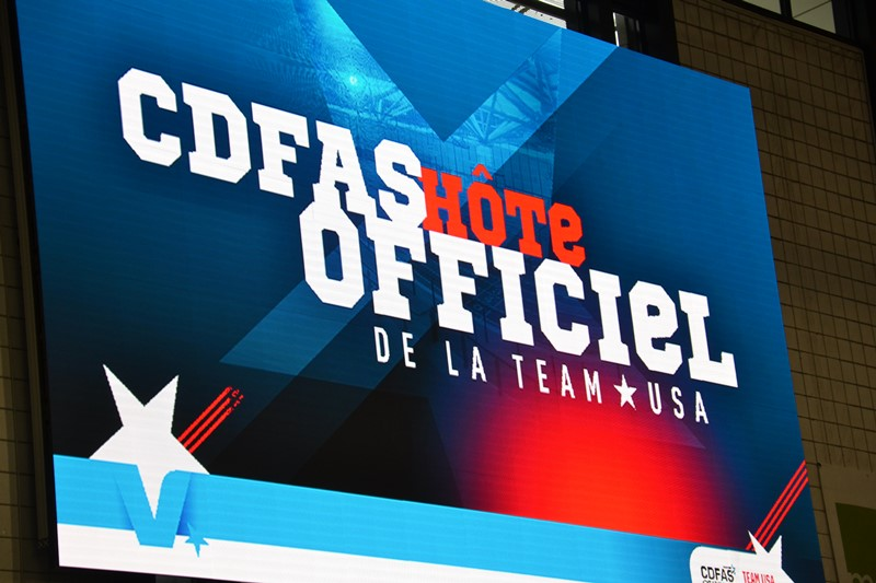 CDFAS hôte officiel de la Team USA