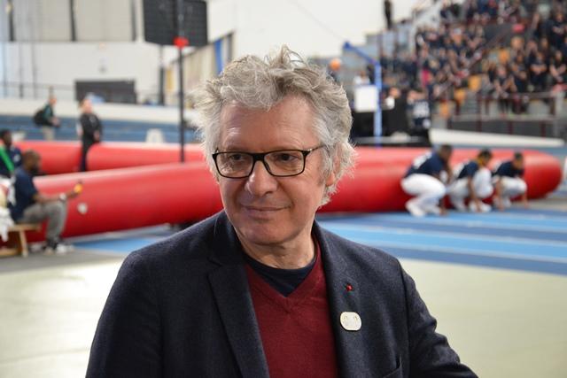 Thierry Rey, représentant le COJO 2024