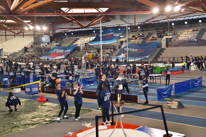 Ateliers sport au CDFas avec les classes olympiques du VO