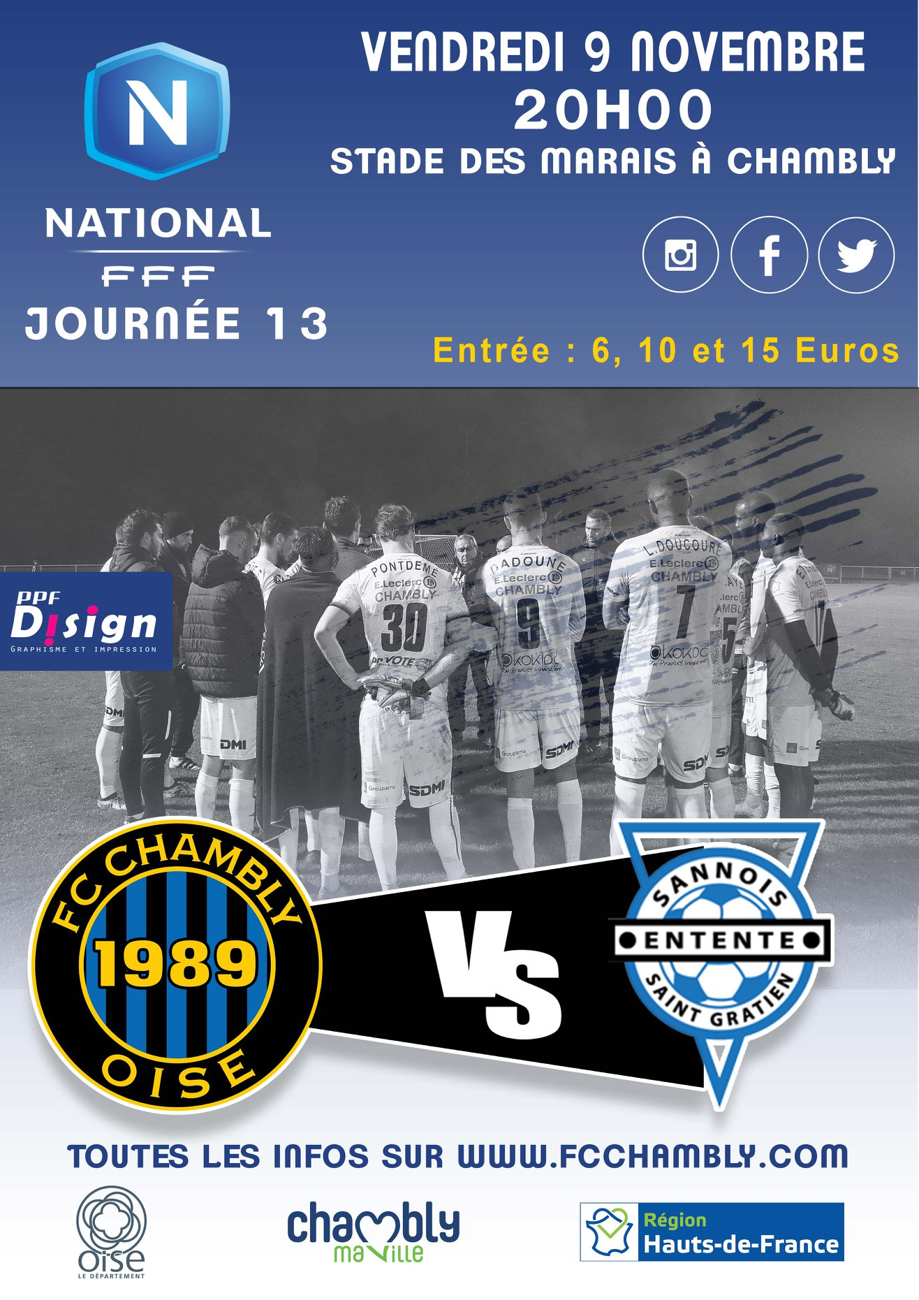 Chambly - Entente Sanois Saint-Gratien
