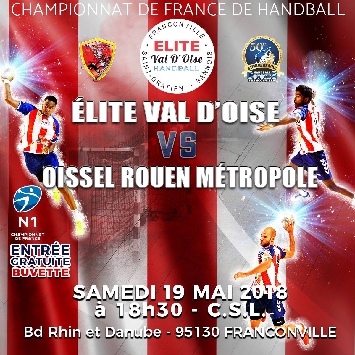 ELITE VAL D'OISE - OISSEL 19 MAI 2018