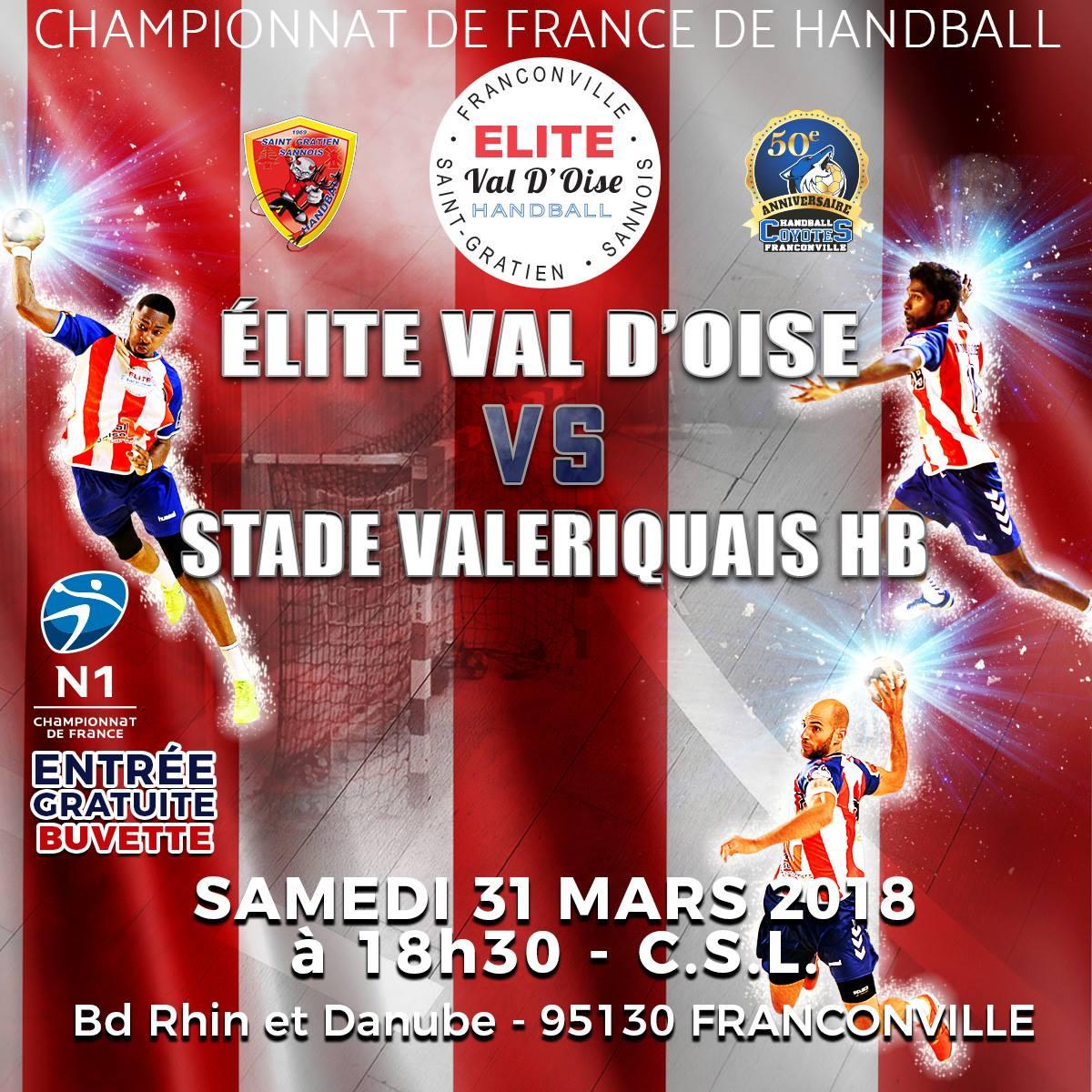 Elite val d'Osie Handball - Stade Valeriquais