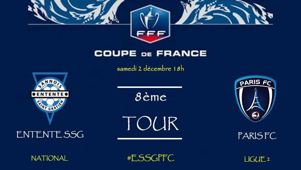 Coupe de france : Entente - Paris FC