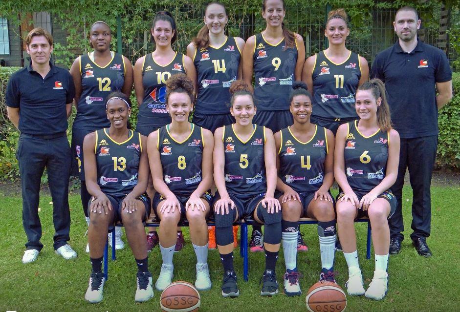 L'équipe de l'Olympique Sannois Saint-Gratien