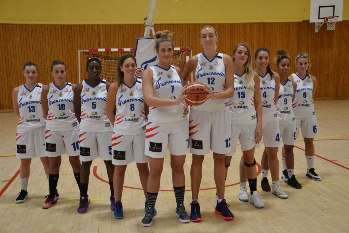 Equipe du Basket Club Franconville Plessis Bouchard