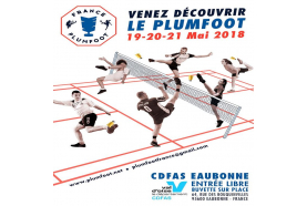 Découvrons le plumfoot à Eaubonne du 19 au 21 mai!