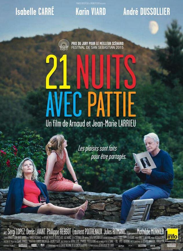 21 NUITS AVEC PATTIE des frères Larrieu