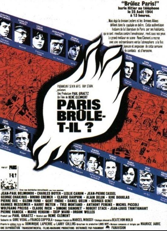 PARIS BRULE-T-IL de René Clément