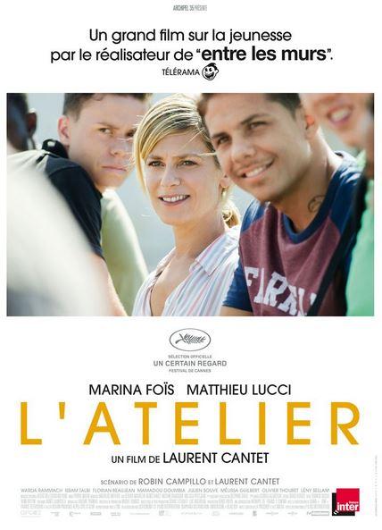 L'ATELIER de Laurent Cantet