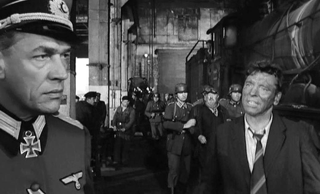 Film LE TRAIN de John Frankenheimer et Bernard Farrel