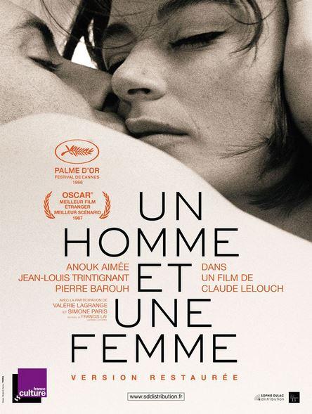 UN HOMME ET UNE FEMME de Claude Lelouch