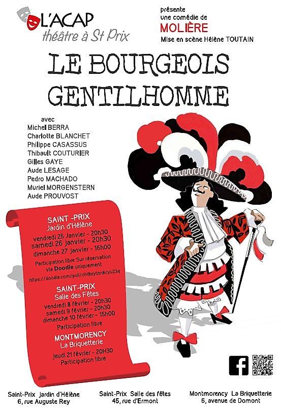 Théâtre : LE BOURGEOIS GENTILHOMME