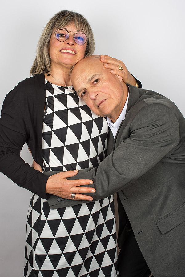 Michèle Lecomte et Guy Vareilhes