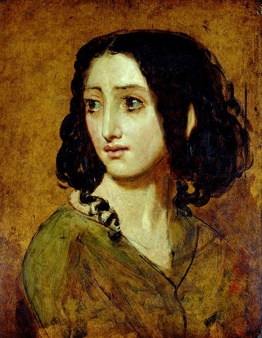 Rachel Felix - William Etty, Mademoiselle Rachel (entre 1841 et 1845), York Art Gallery.