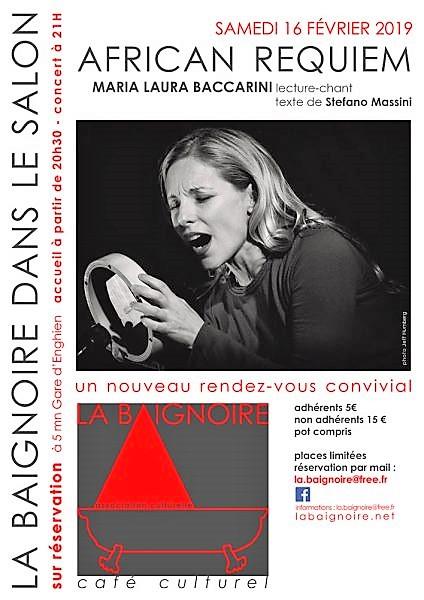 La Baignoire dans le Salon avec Maria Laura Baccarini