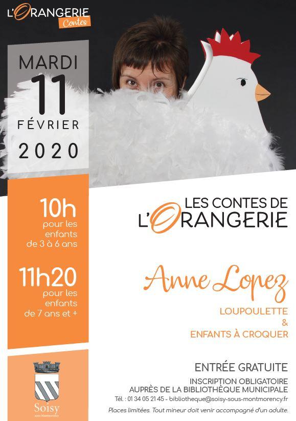 Contes de l'Orangerie - Soisy le 11 février 2020