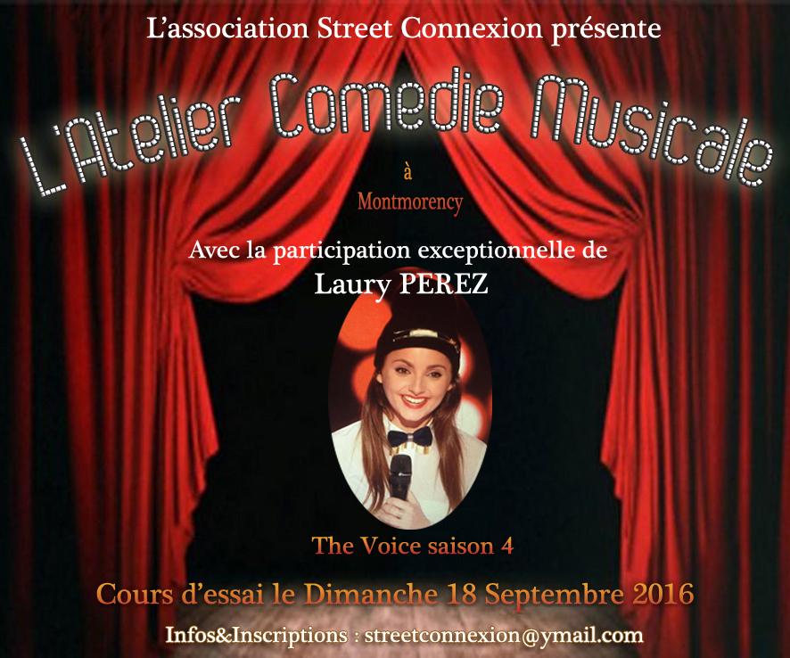 L'atelier Comédie Musicale à Montmorency