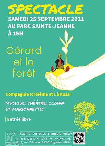 Théâtre : Gérard et la forêt