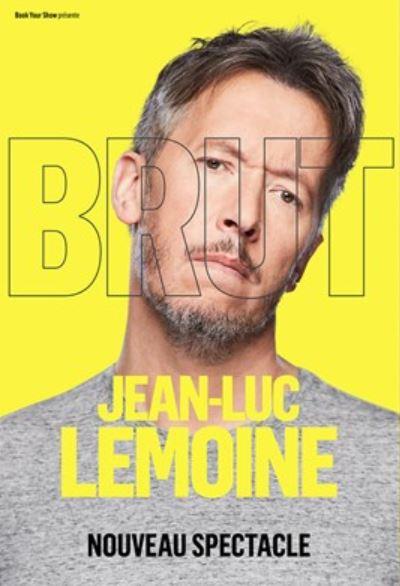 Jean-Luc Lemoine spectacle Brut