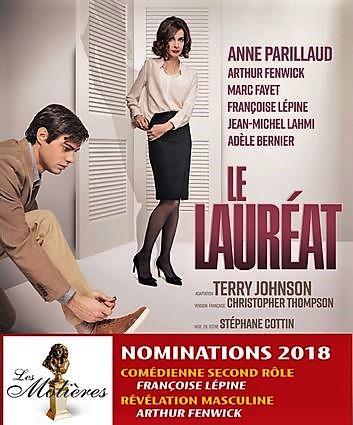 Théâtre : LE LAUREAT