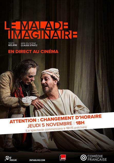 Théâtre au cinéma LE MALADE IMAGINAIRE