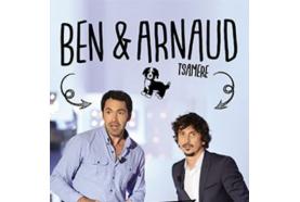 Tête d'affiche: Ben et Arnaud Tsamère, leur duo choc, enfin sur scène. Ils font étape à Franconville! (série d'été 10/20)
