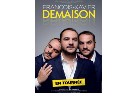 Tête d'affiche: François-Xavier Demaison sur la scène de l'Orange bleue d'Eaubonne! (série d'été 5/20)