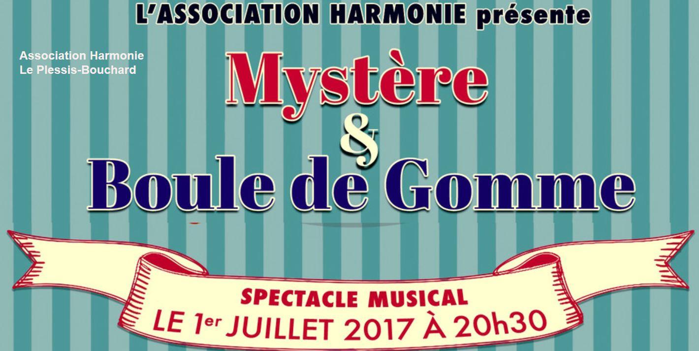 Spectacle myst re et boule de gomme samedi 1er juillet au plessis bouchard - Font des boules de gomme ...