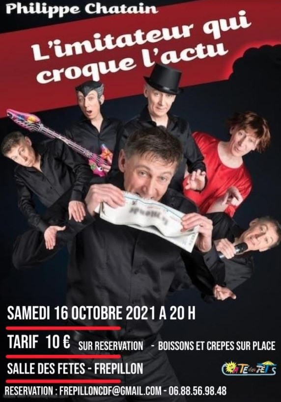 Spectacle de Philippe Chatain