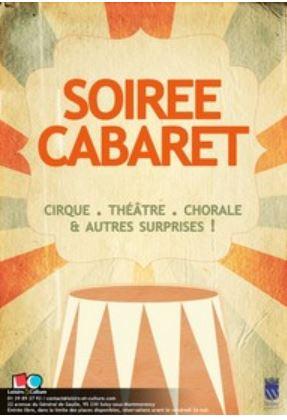 Soirée cabaret à Soisy 2017