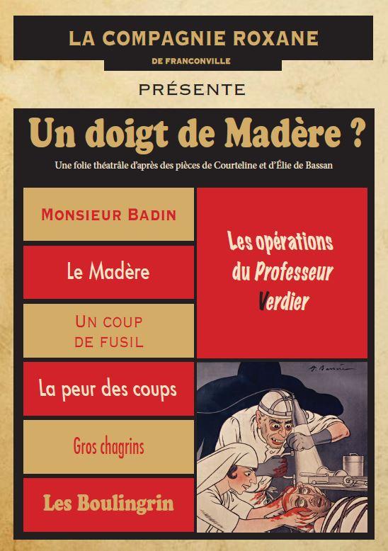 Théâtre UN DOIGT DE MADERE ?